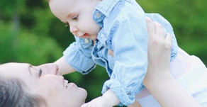 Mommy and Me Outdoor Family Session - Delaney, Kinsley and Macey