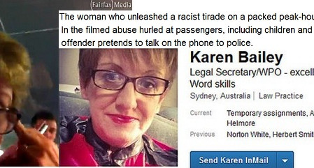Woman faces court after a racist rant on a sydney train