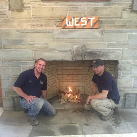 2017 Boy Scout Camp Fireplace Rebuild