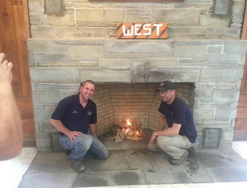 2017 Boy Scout Camp Fireplace Rebuild