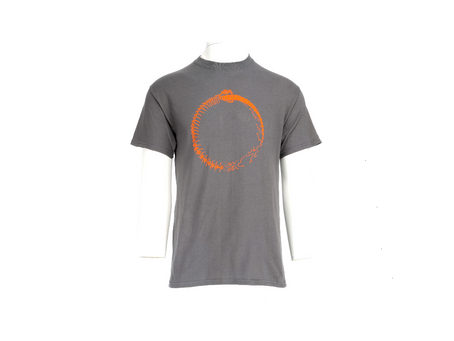 Grey Meta 100% Organic Ultra Cotton Screen Printed Tshirts