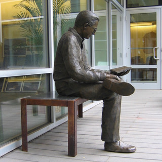 Young Man Reading (view 3)