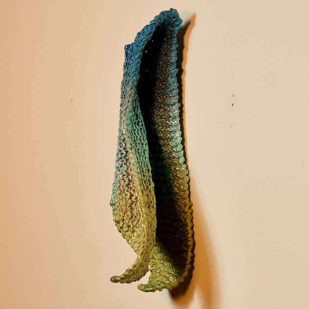 Blue-to-Green Drape (view 2)