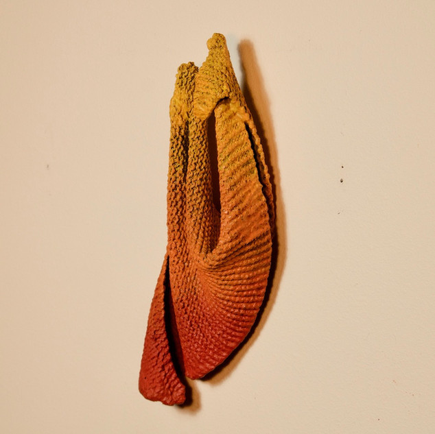 Red-to-Yellow Drape (view 2)