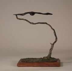 Zen Tree with Raven (view 1)