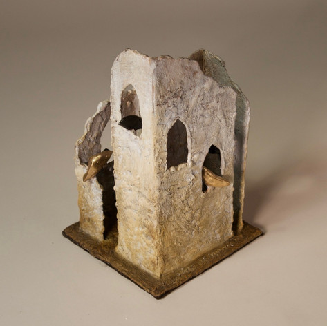 Ruin 13 with Gothic Windows - view 1