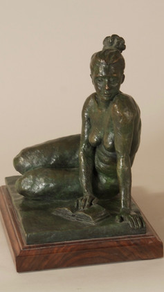 Woman with a Book (view 2)