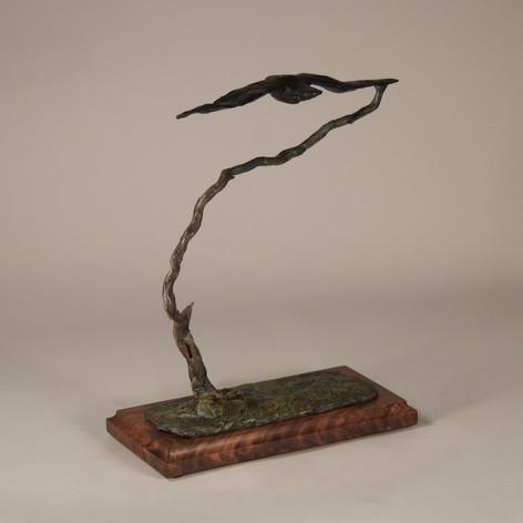 Zen Tree with Raven (view 2)