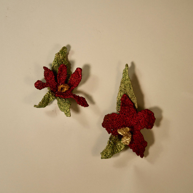 Blossoms 1and 2: Wall pieces