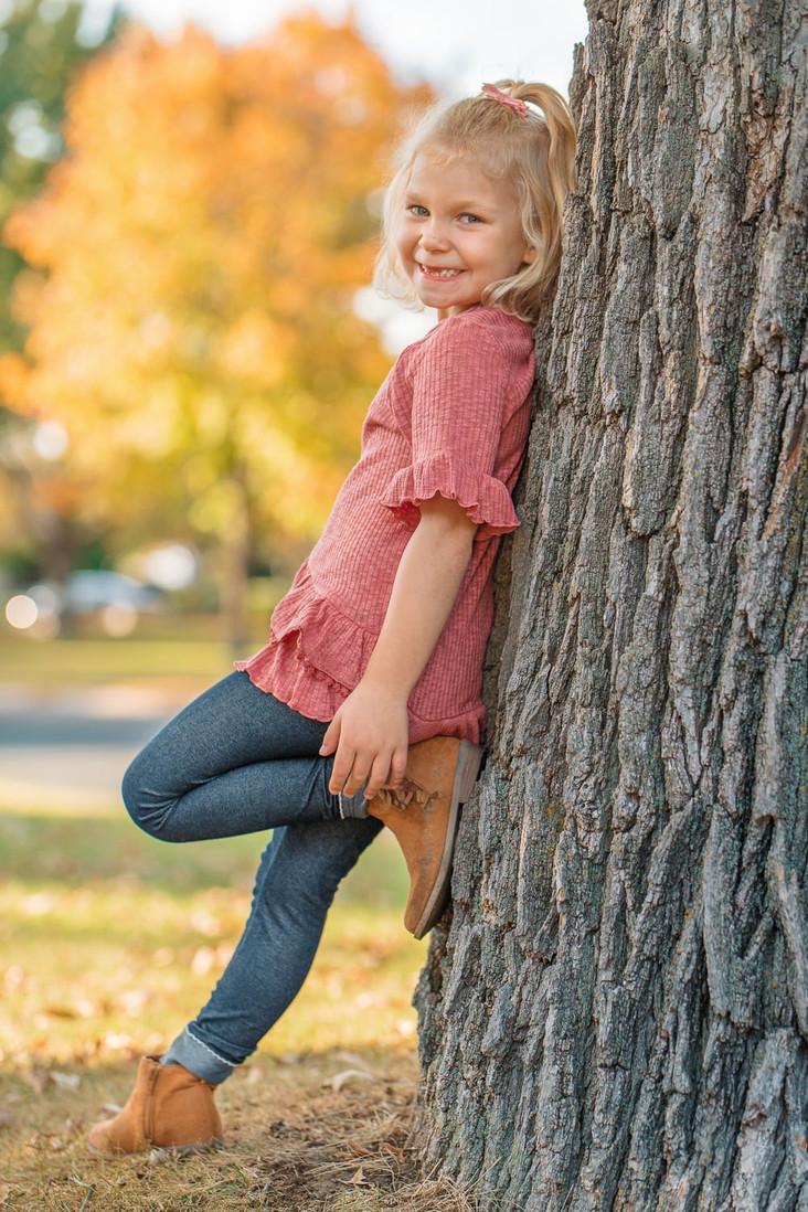 Fall Kids Portrait