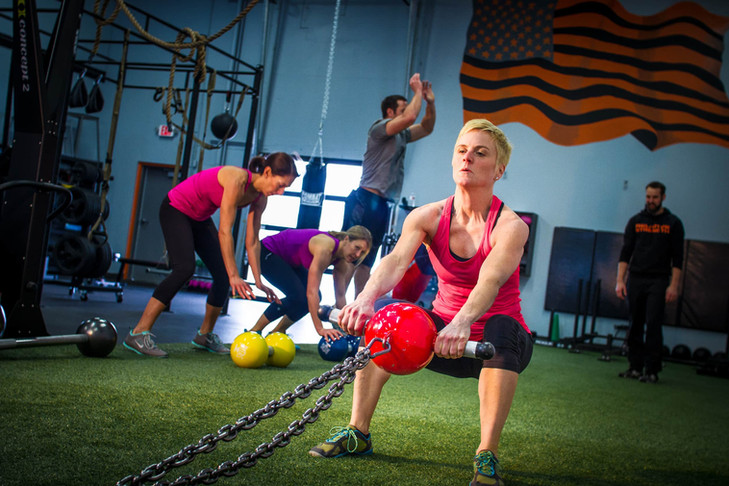 Sled Pull Gym Workout
