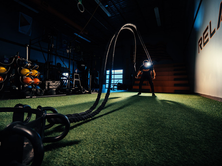 Gym Rope Workout