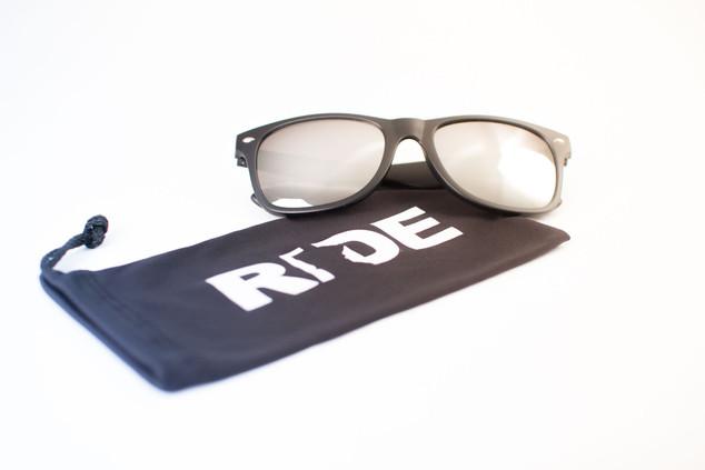 RideMN Sunglasses and Sleeve