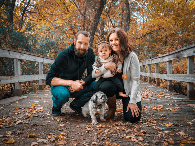 Elm Creek Fall Family Shoot