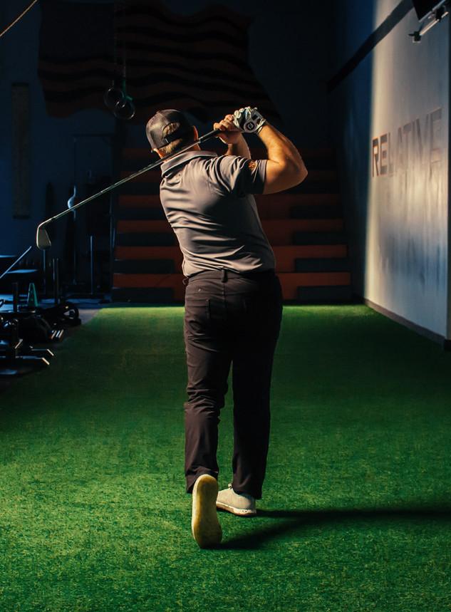 Gym Golf Swing