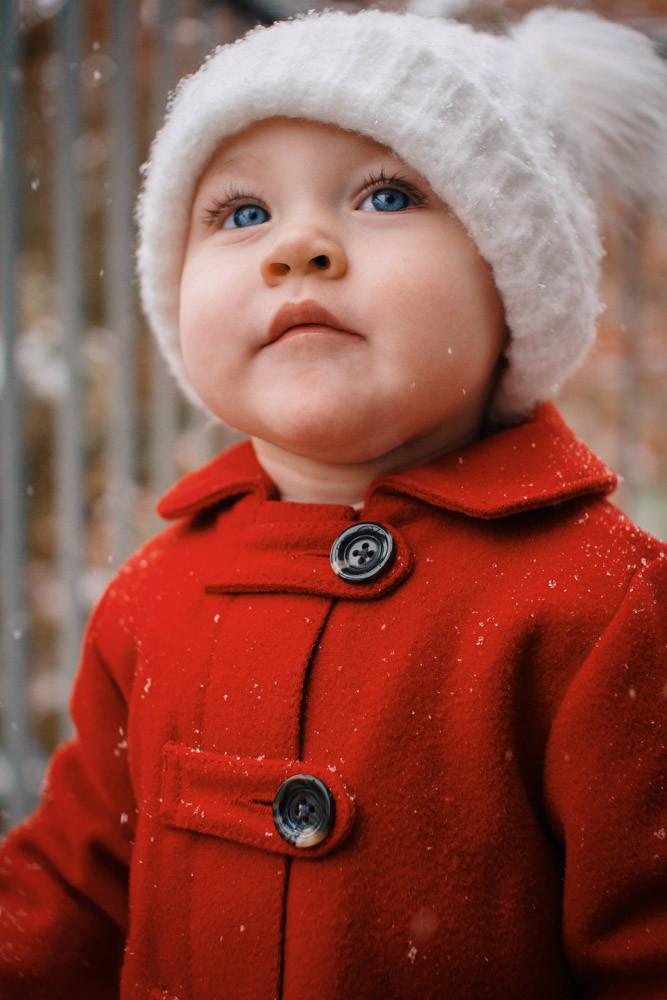 Toddler Winter Portrait