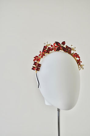 Fascinators, crowns and headpieces for special occasions