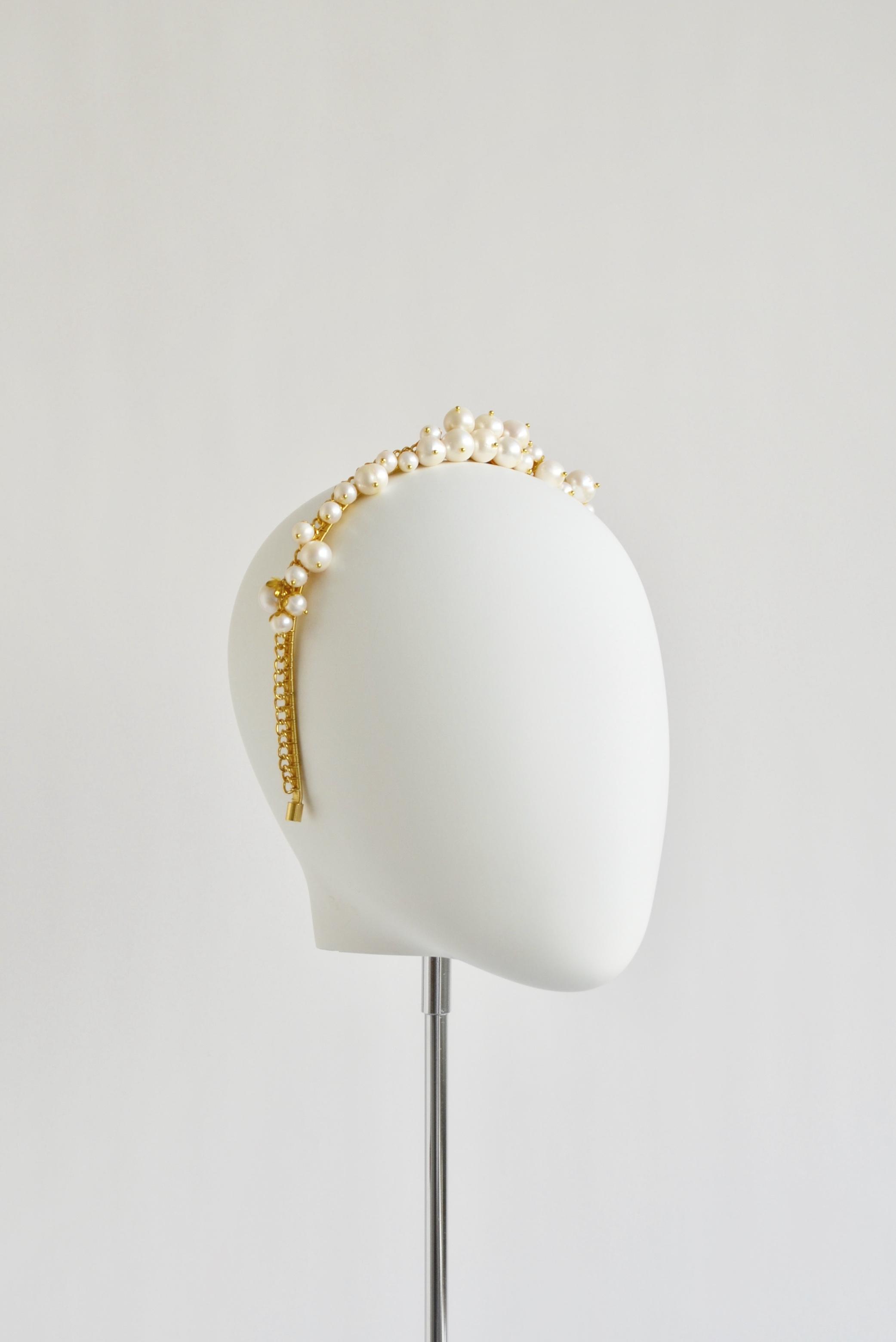 Anaitis Freshwater Pearl Headband