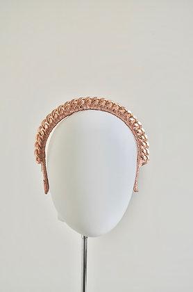 HEPHEA - Rose Gold Chain Headband