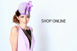 Lilac Disc Hat/Fascinator