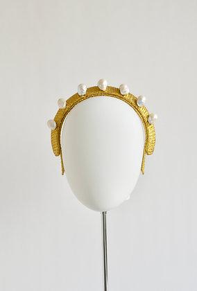 Jayne - Freshwater Pearl Headband