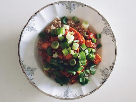 Tofu-Süß-Sauer