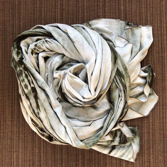 Papillon Wrap - Forest Tie Dye