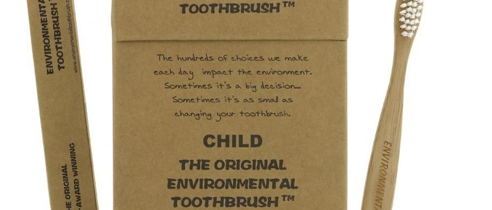 Children's bamboo toothrush