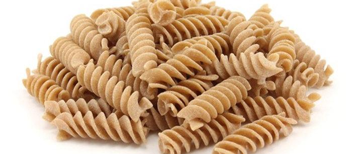 Pasta - wholewheat fusilli (organic)