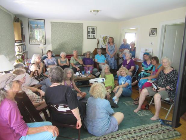 Group-listening to Sas CArey re Mongolia