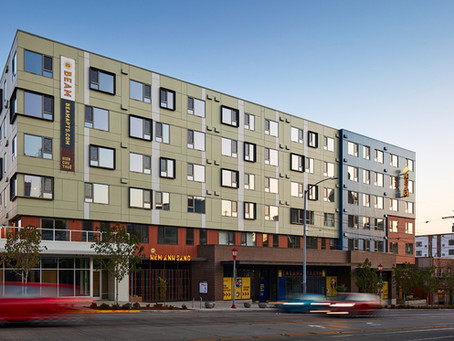 New Mixed-Use 321-Unit Development Opens in International District: The Beam