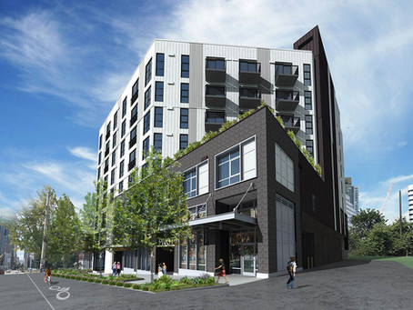 Pivot—a Mixed-Use Project on Capitol Hill—Has Topped Off