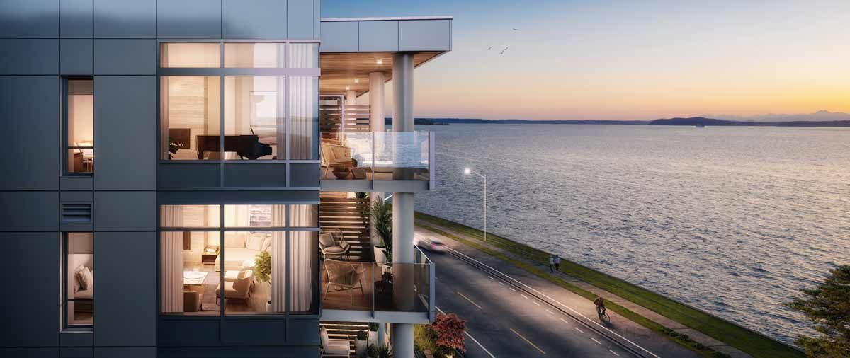 Infinity Shore Club, condo architecture Seattle