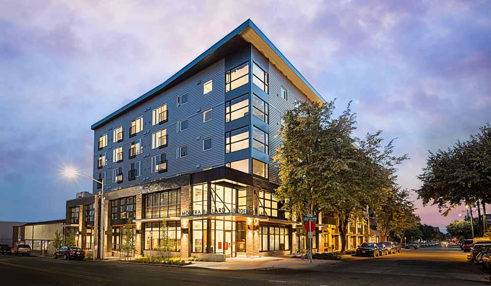Modera Ballard, Seattle multi-family architecture