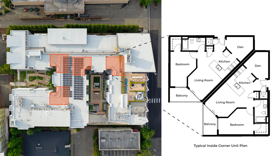 Unit Efficiency, Multifamily Architect