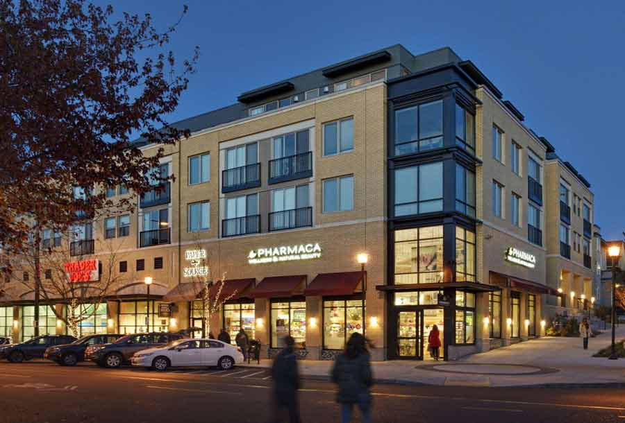 Queen Anne Towne, mixed-use architecture, multi-family housing architecture, Seattle architect