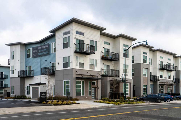 The Main Apartments, multi-family architecture