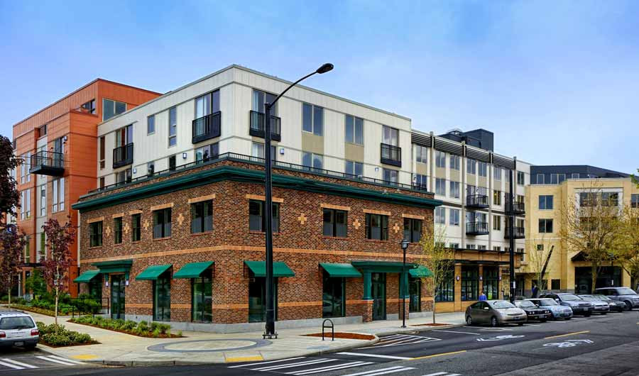 Queen-Anne-Towne, mixed use architecture