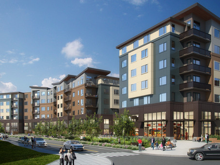 New 600+ Unit Mixed-Income Development in Renton Receives Design Approval