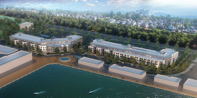 Waterfront Place, multi-family architecture