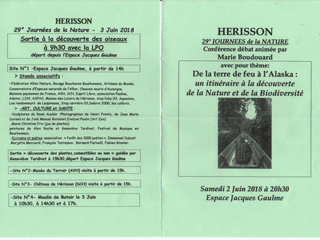 Journée de la nature - Herisson (Allier)
