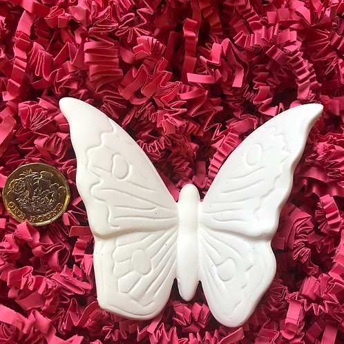 Paint your own ceramic hanging butterfly