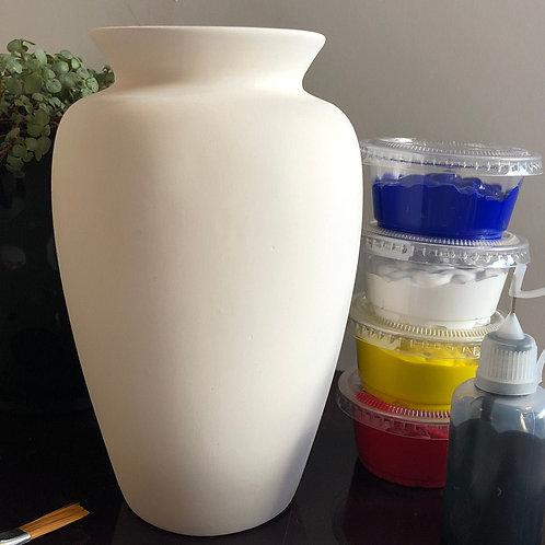 Paint your own Vase box  - Shape 3