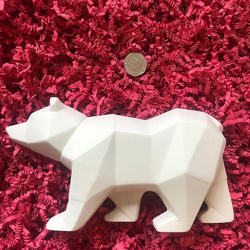 Faceted Polar Bear