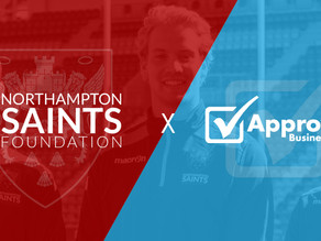 Saints Foundation named Approved Business Finance's Charity of the Year