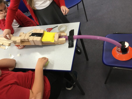 Science in action in schools with our Mad Science project. The enthusiasm for STEM was wonderful