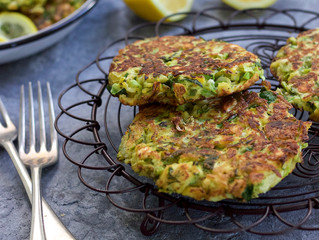 BRUSSEL SPROUT FRITTERS
