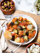 Briami Greek Vegetable Bake