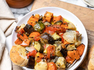 Briami Greek Vegetable Bake