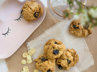 HONEY QUINOA COOKIES